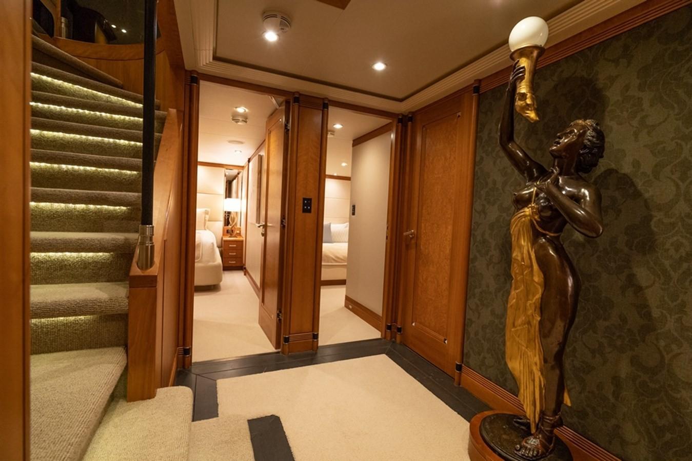 1997 Christensen 155' ''LOON'' - Lower Guest Foyer