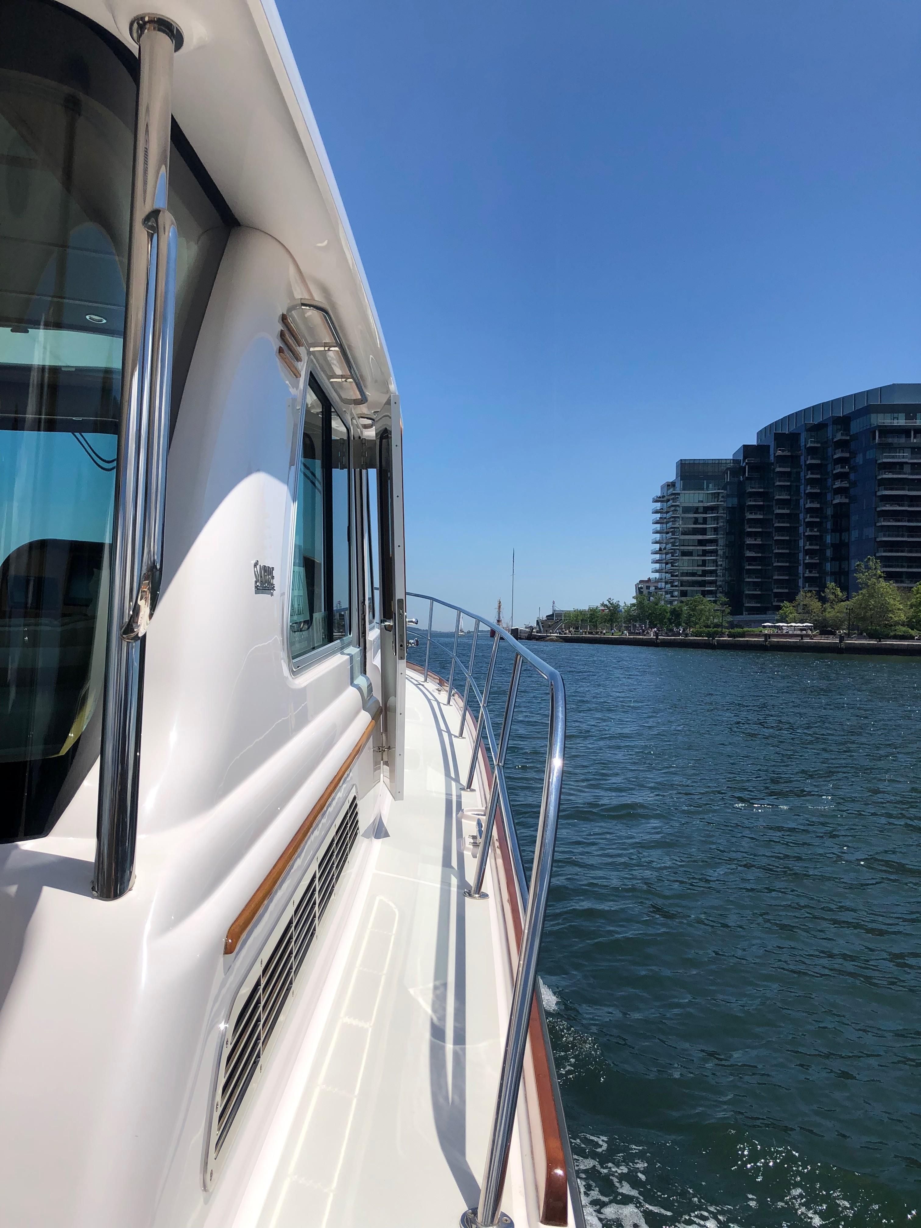 Exterior Starboard