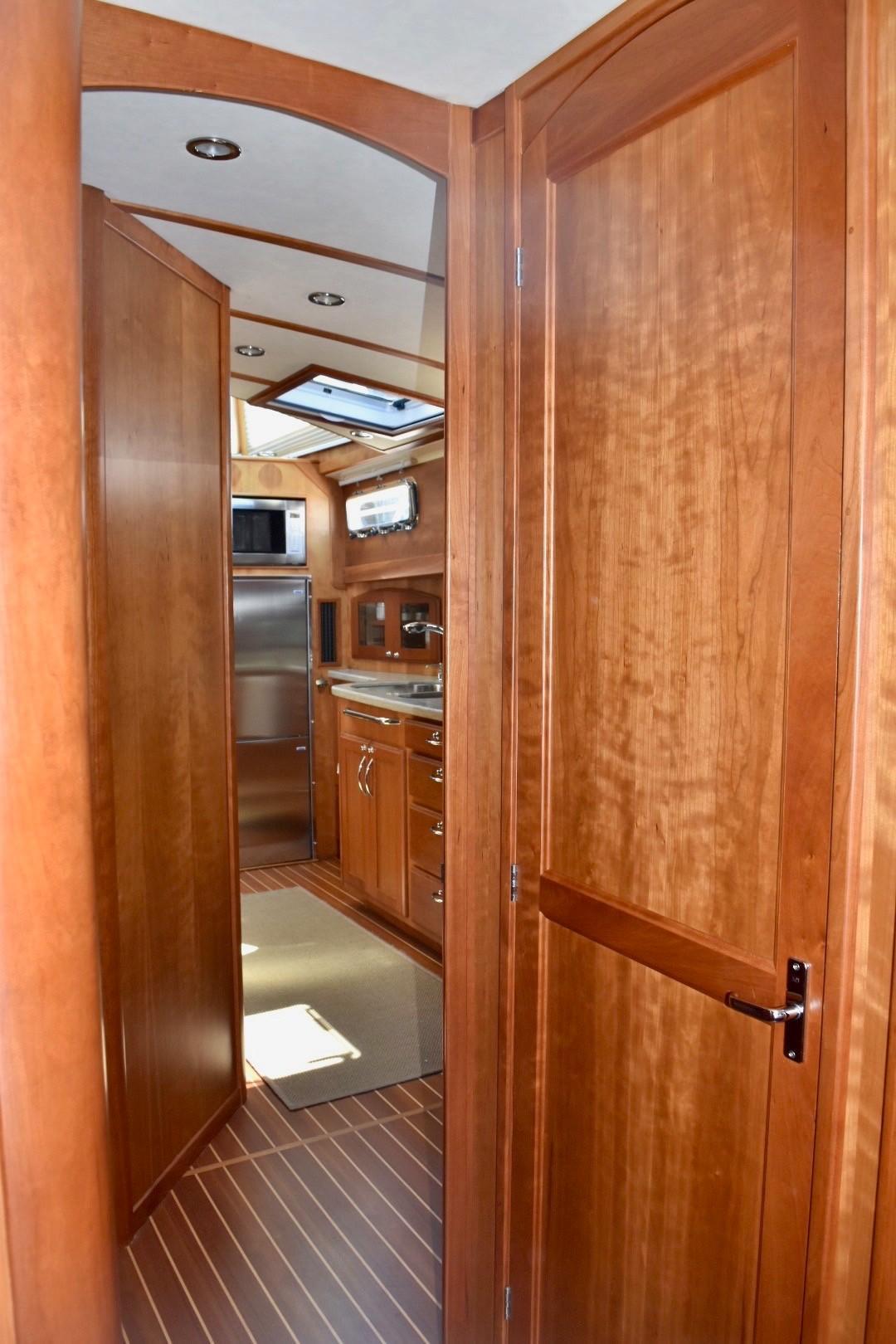 48 ft Sabre 48 SE Galley Detail