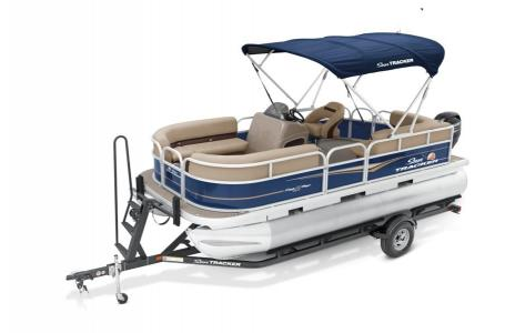 2020 Sun Tracker boat for sale, model of the boat is Party Barge 18 DLX & Image # 16 of 37