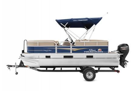 2020 Sun Tracker boat for sale, model of the boat is Party Barge 18 DLX & Image # 18 of 37