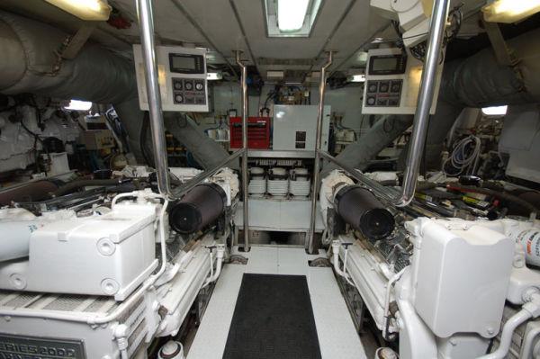 105 Broward Engine Room