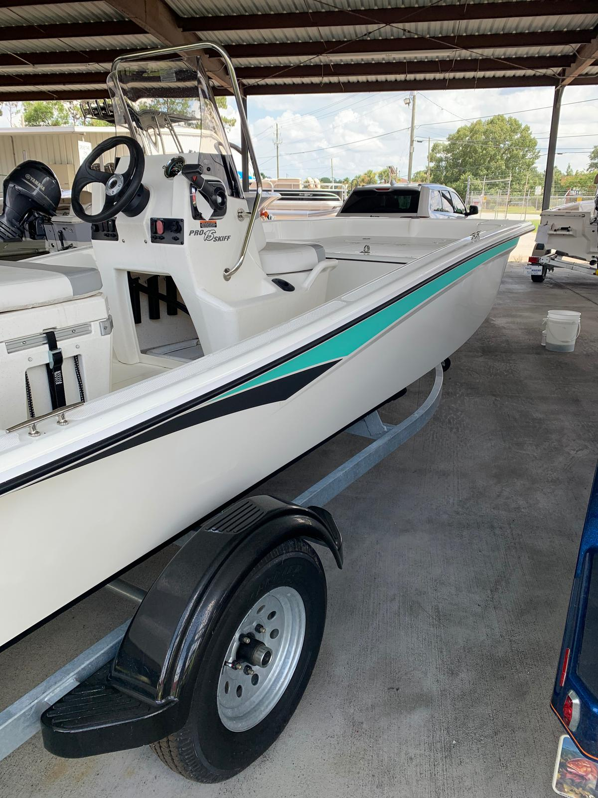 2020 Mako boat for sale, model of the boat is Pro Skiff 15 CC & Image # 23 of 38