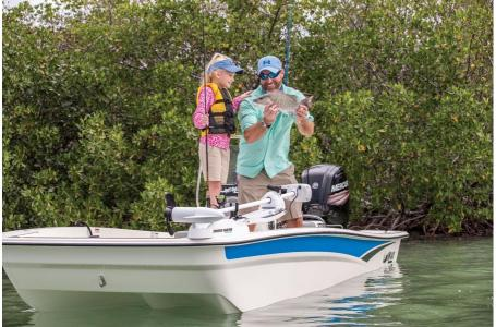 2020 Mako boat for sale, model of the boat is Pro Skiff 17 CC & Image # 10 of 35