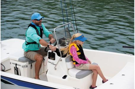 2020 Mako boat for sale, model of the boat is Pro Skiff 17 CC & Image # 32 of 35