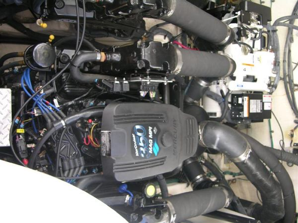 Port MercCruiser 350 CID MPI 300hp