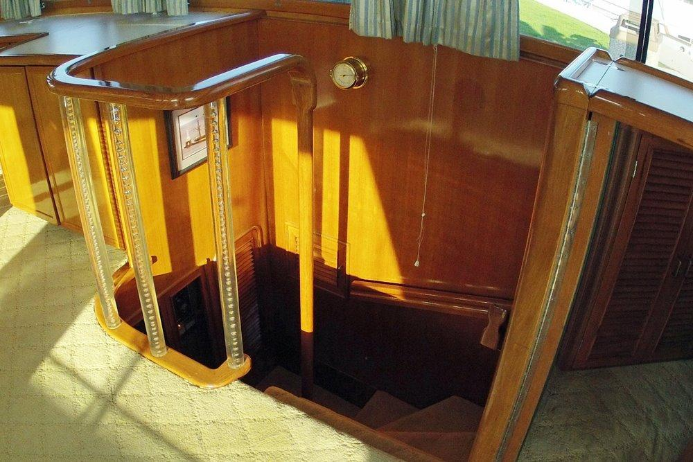 Master Stateroom Companionway