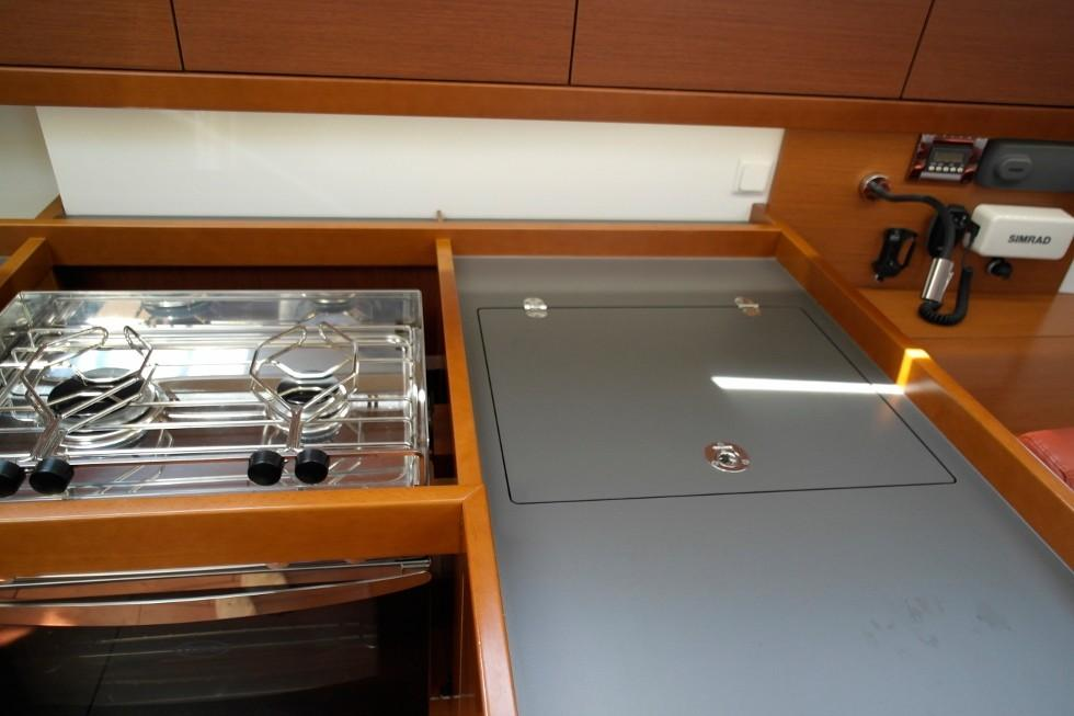 Galley detail