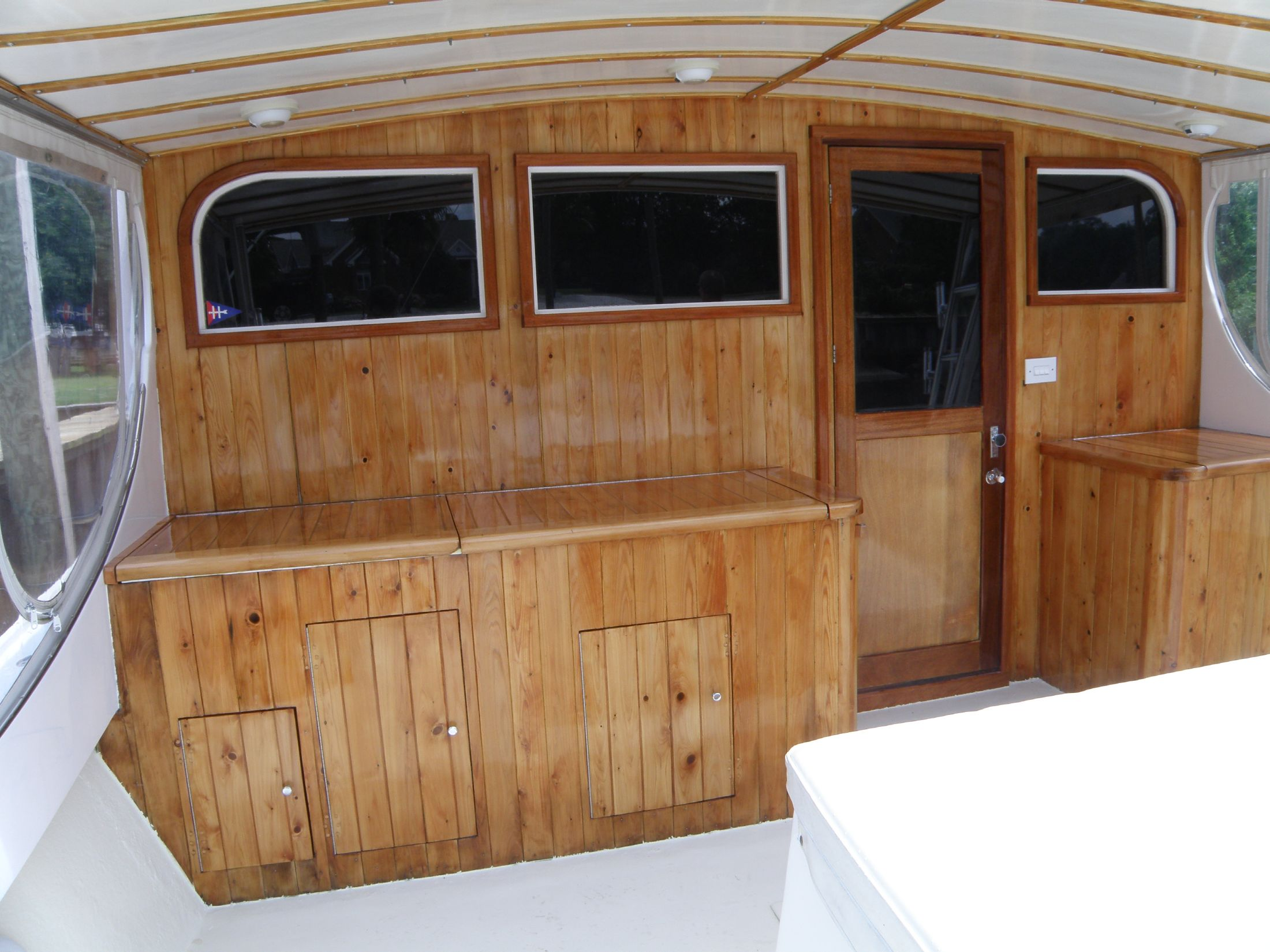 cockpit bulkhead