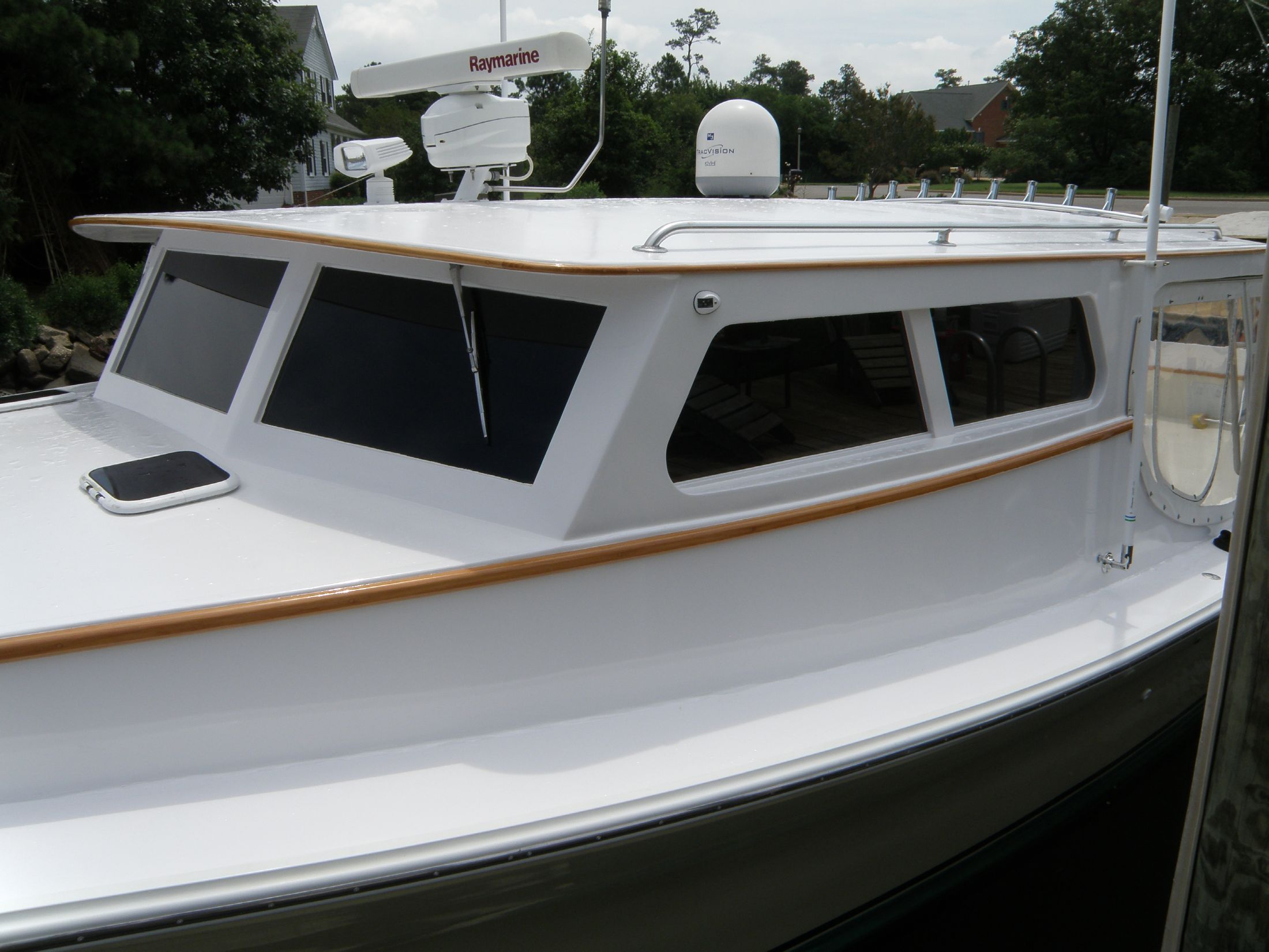 pilothouse and hardtop