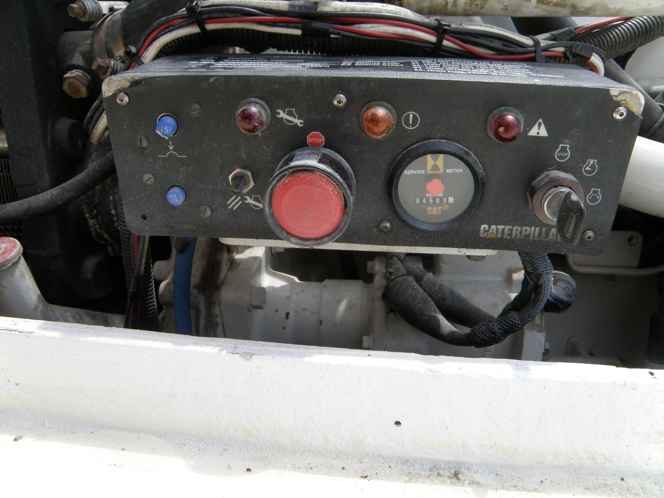 engine mounted panel