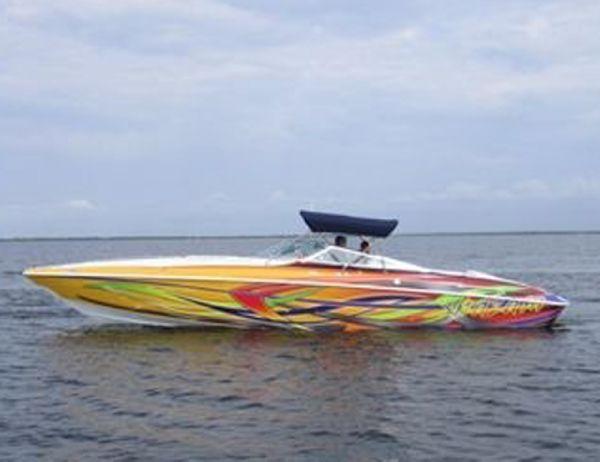 2003 34 u0026 39  baja 342 boss yacht for sale