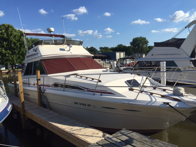 1985 Sea Ray 39 Sportfish