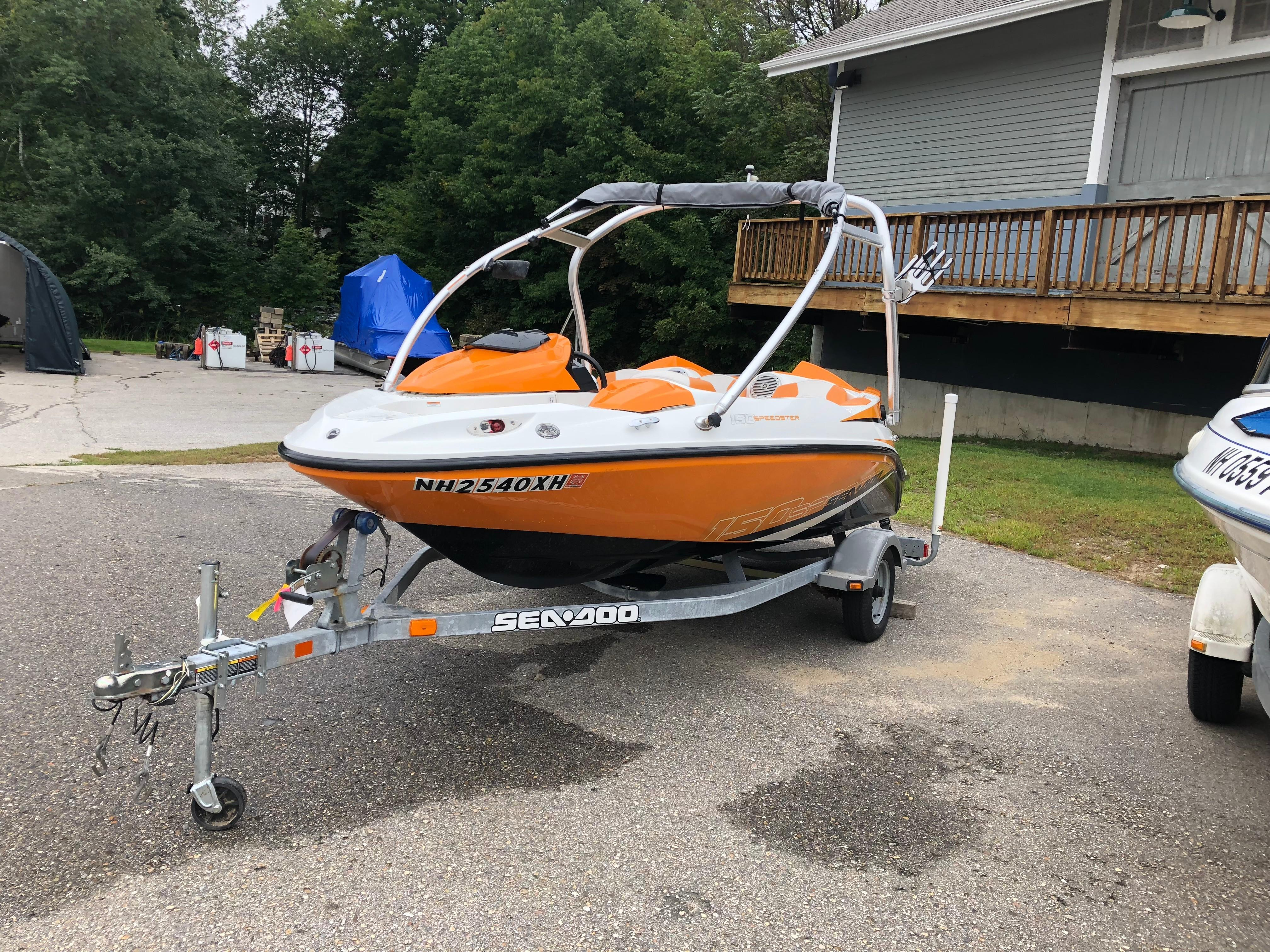 2012 Sea Doo Sportboat boat for sale, model of the boat is Speedster 150 & Image # 7 of 11