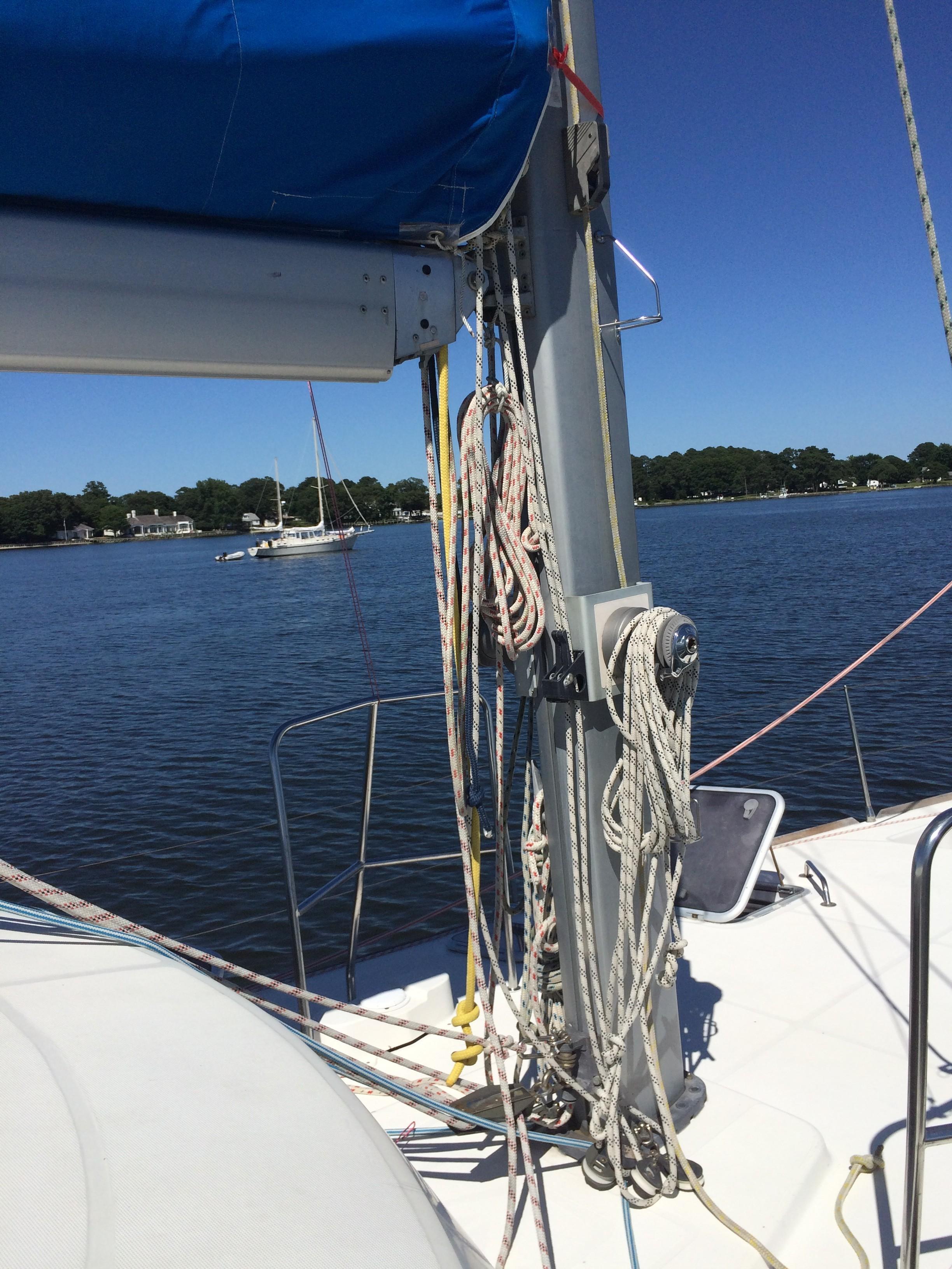 50 Dufour Buloo 2001 Delaware Bay   Denison Yacht Sales