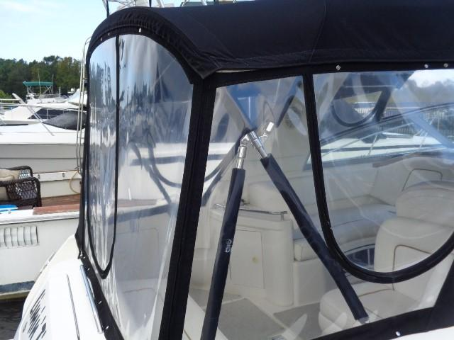 Sea Ray 290 Sundancer - canvas and glass