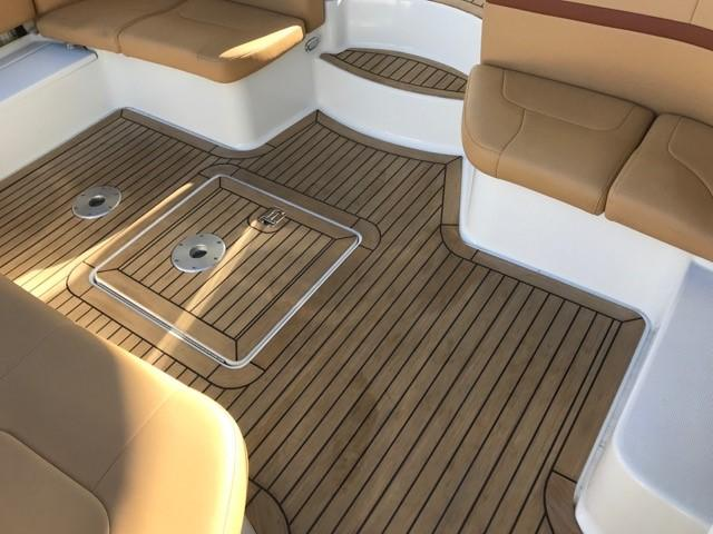 Formula 48 Yacht - Cockpit decking - NEW TEAK Faux teak