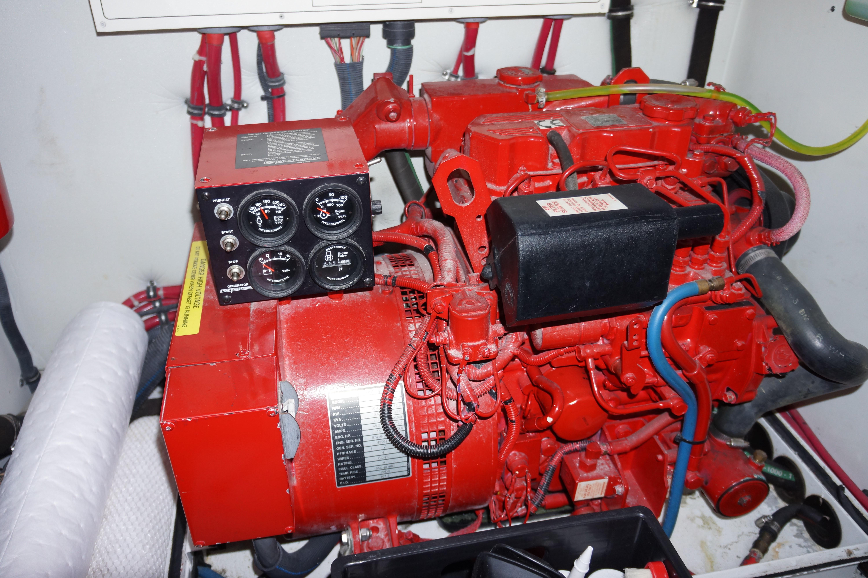 Formula 48 Yacht - Westerbeke Generator