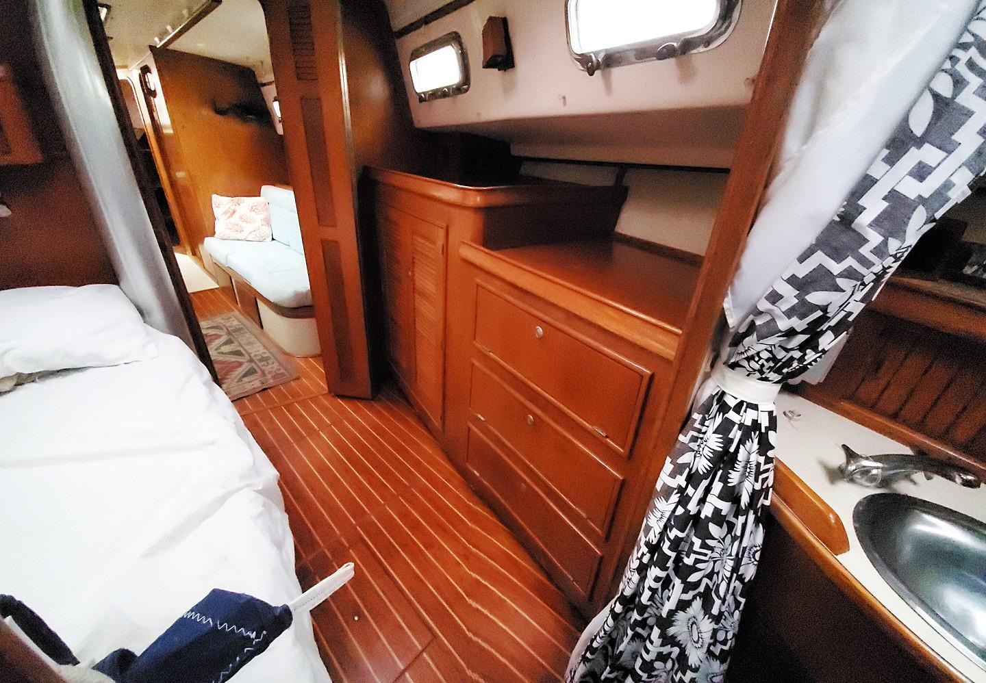 Owners Stateroom Port Cabinetry