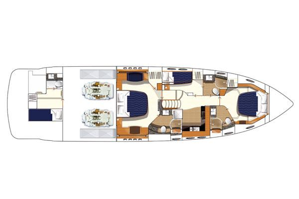 Accomodations Princess V65