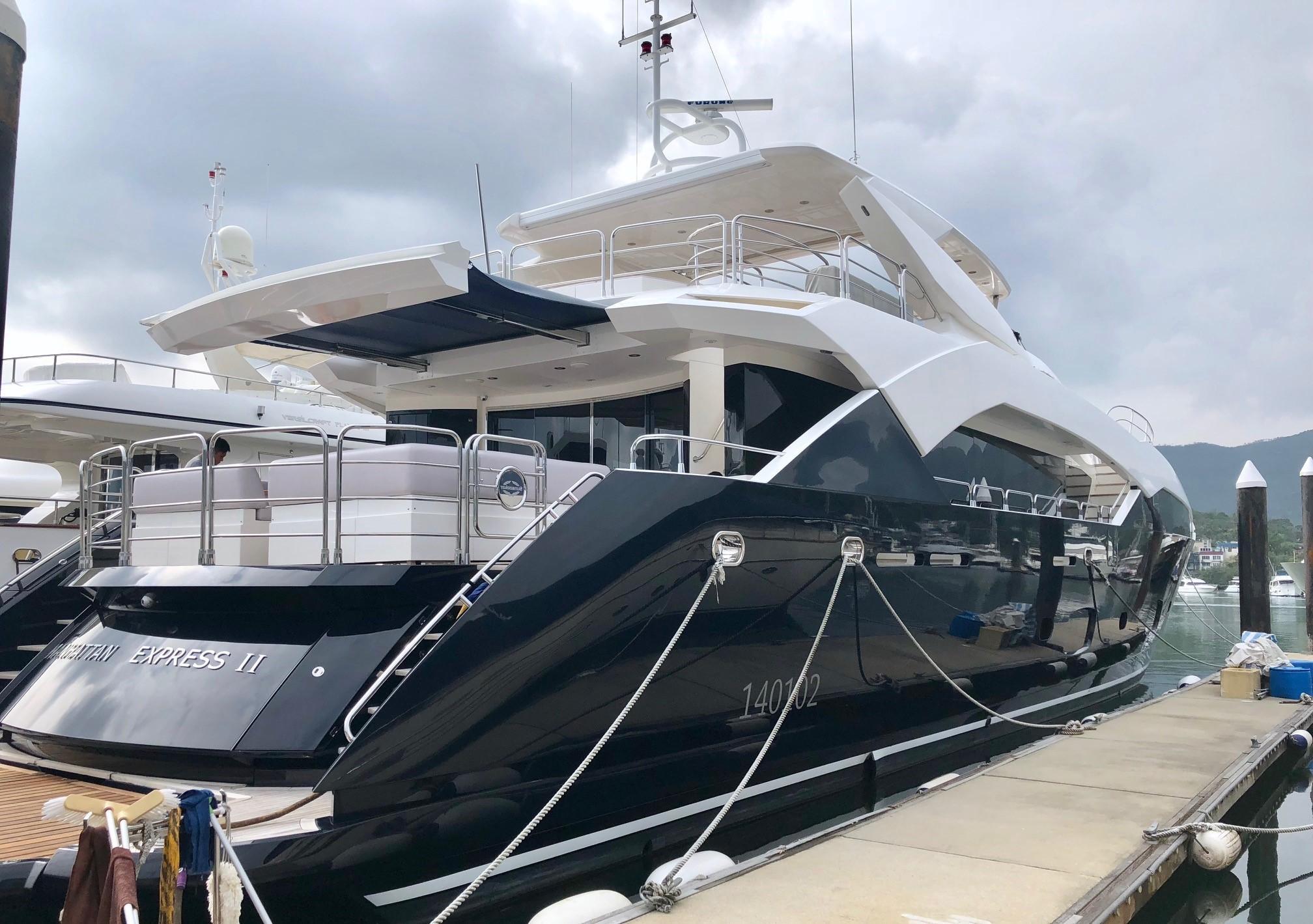 113.3 ft Sunseeker 115 Sport Yacht