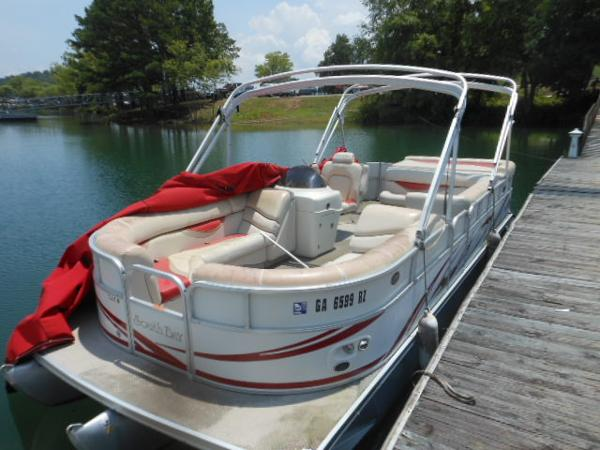 2008 SOUTH BAY 922CRTT TRI TOON for sale
