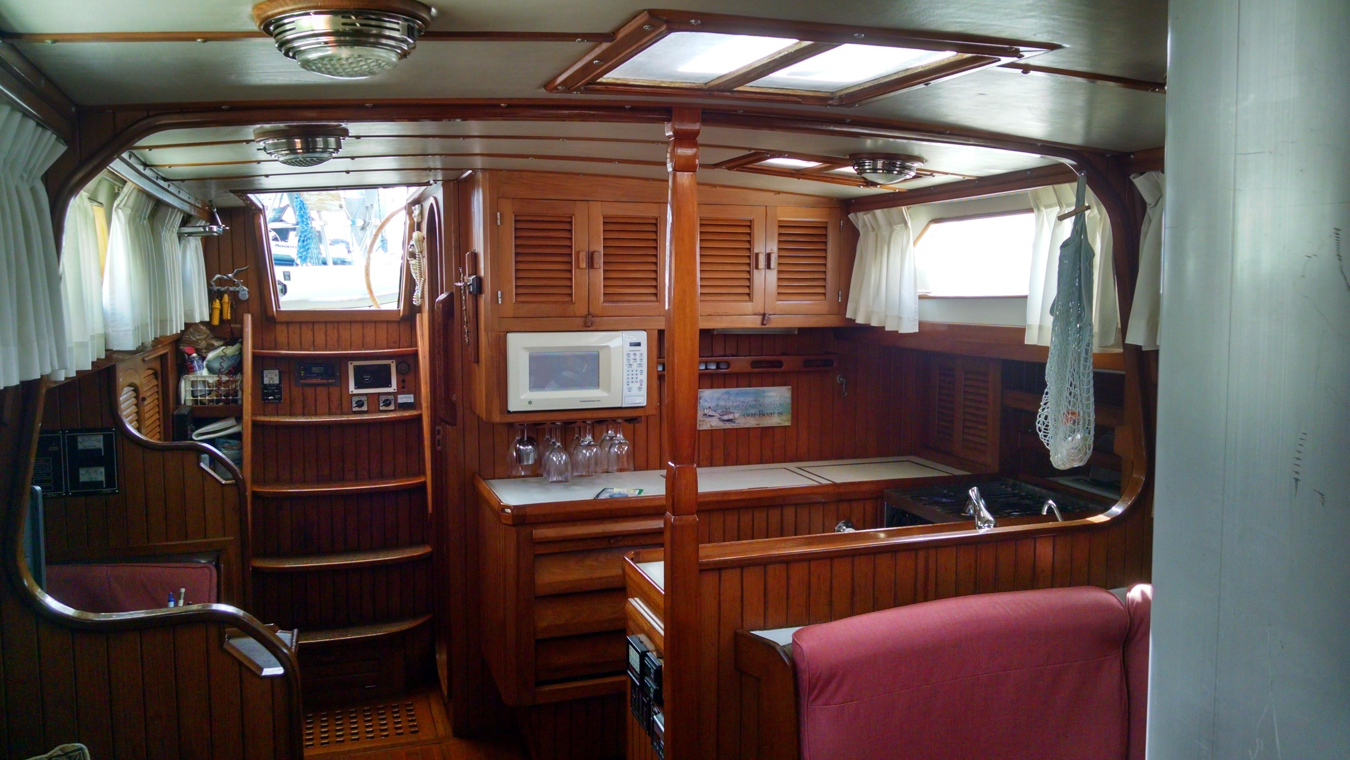 Salon View Looking Aft