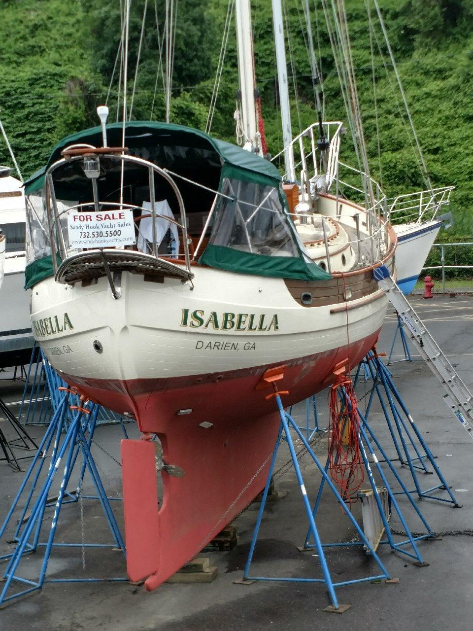 38 Hans Christian Isabella 1989 Atlantic Highlands | Denison Yacht Sales