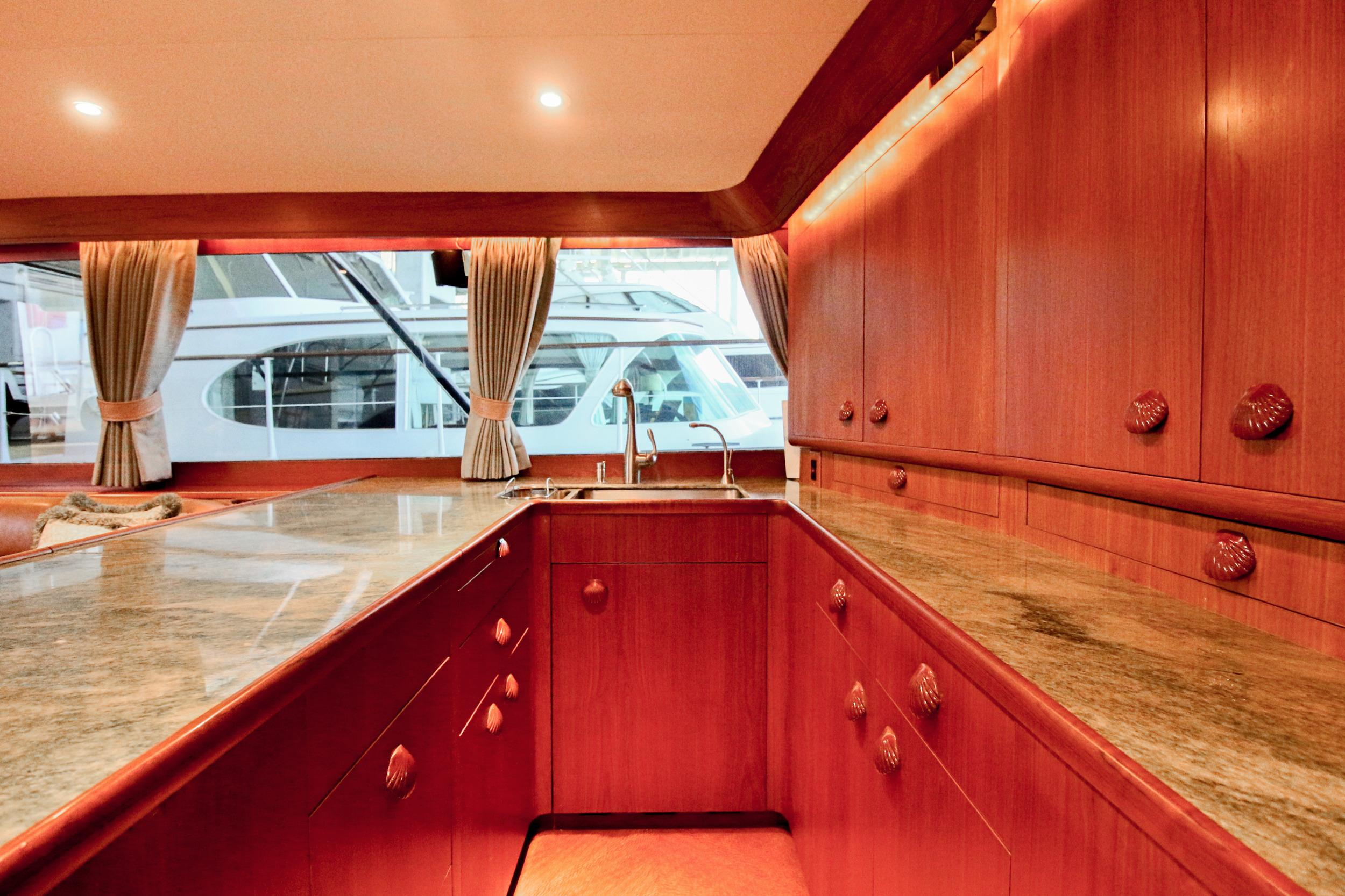 Galley - Looking to Port