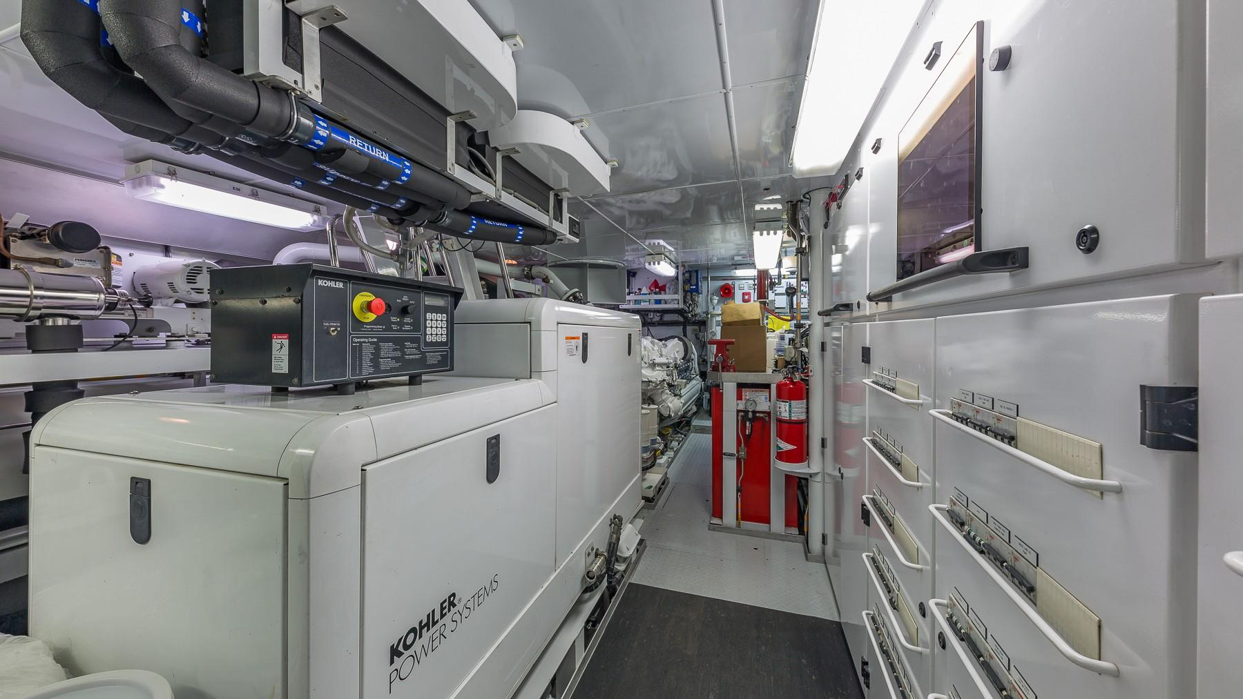 101 Burger Engine Room