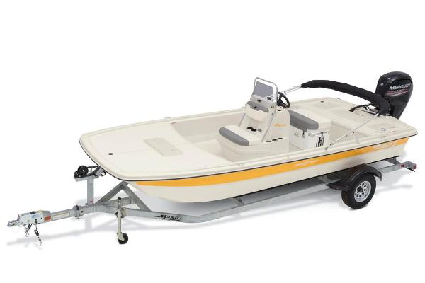 2020 Mako boat for sale, model of the boat is Pro Skiff 19 CC & Image # 11 of 48