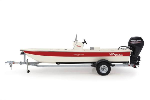 2020 Mako boat for sale, model of the boat is Pro Skiff 19 CC & Image # 14 of 48