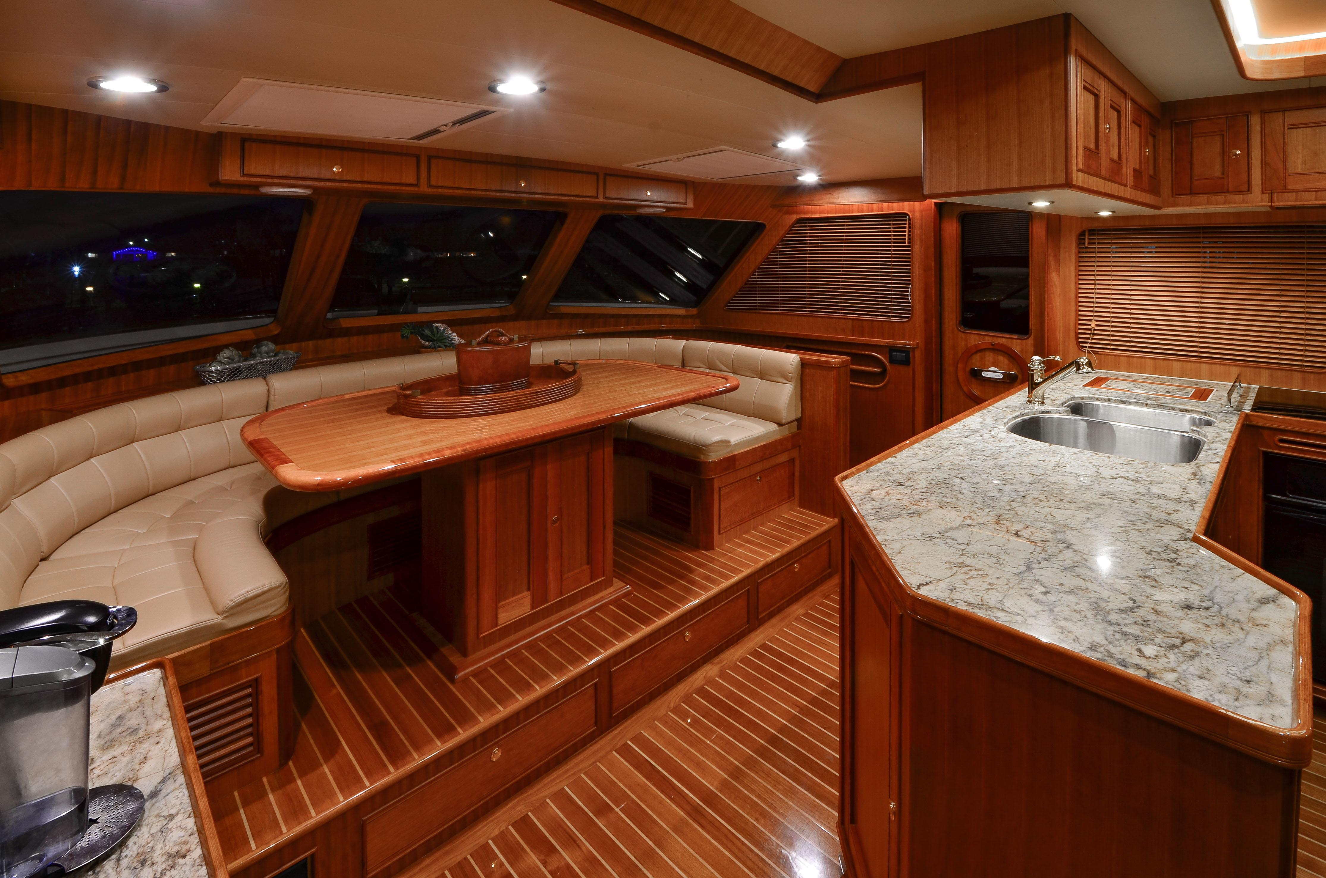 Galley / Pilothouse Seating
