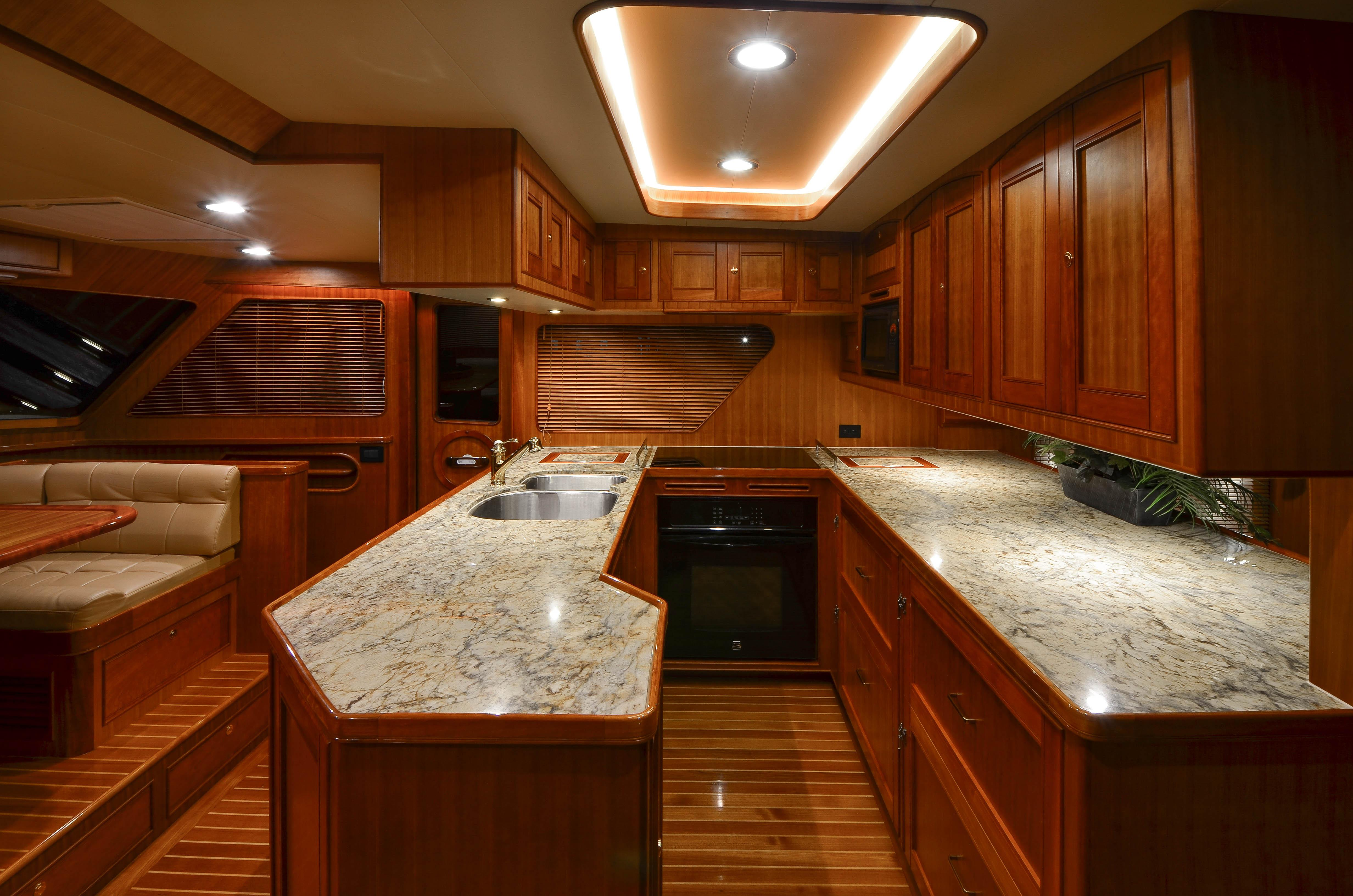 Galley Looking stbd