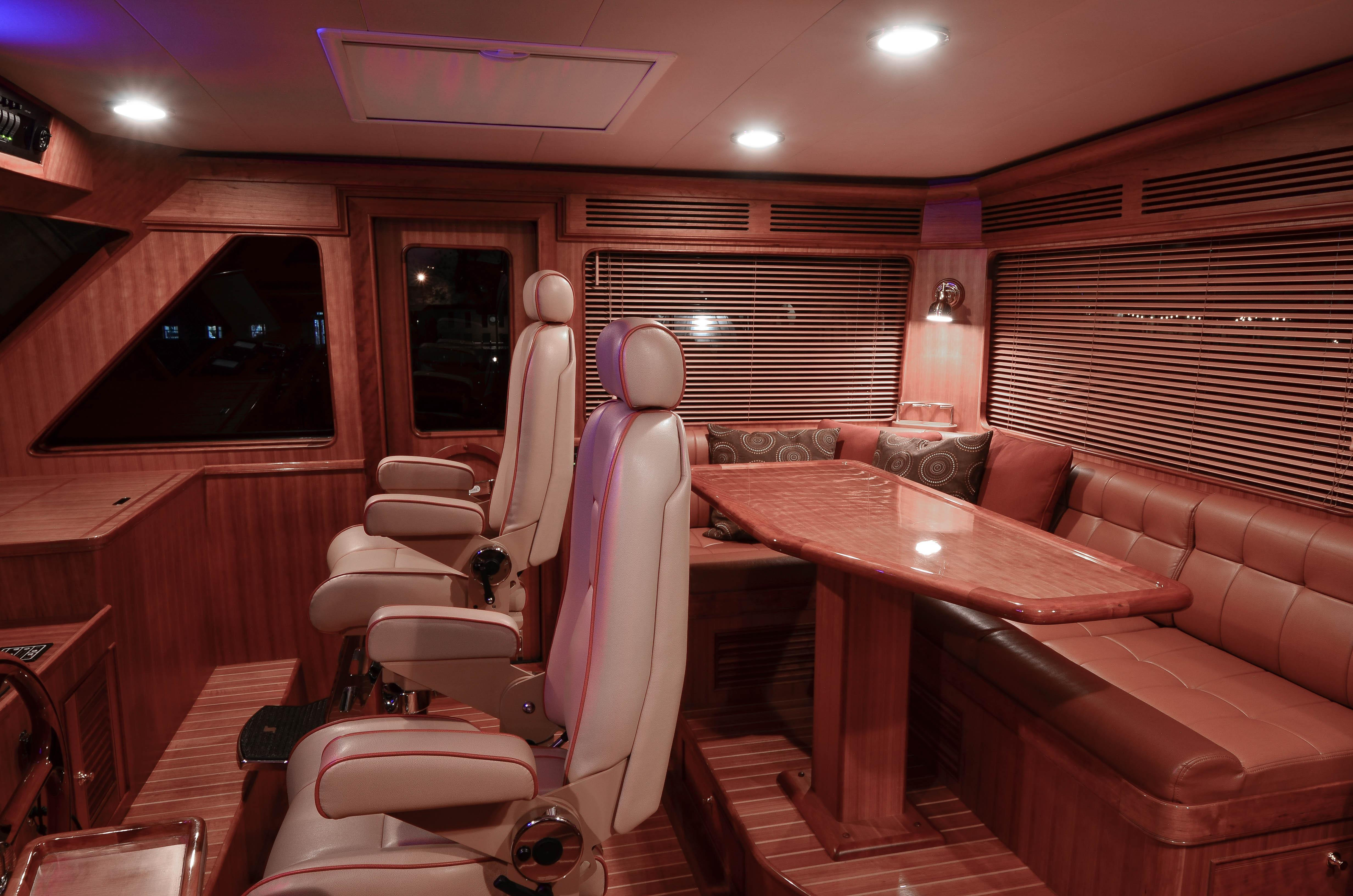 Pilothouse Looking Stbd