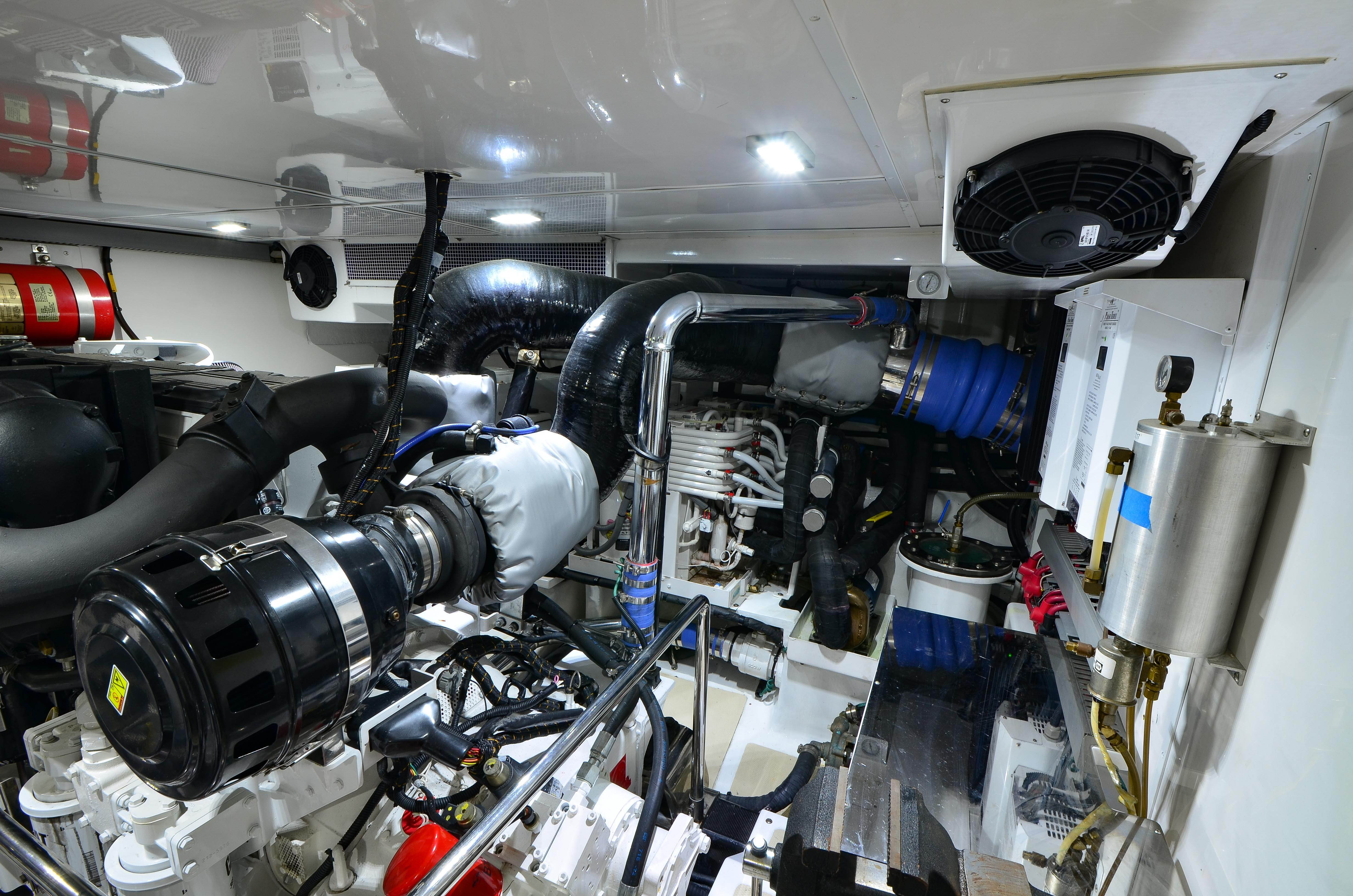 Aft Stbd Engine