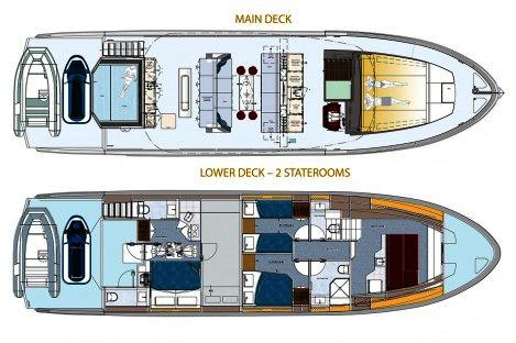 Top Deck 65 layout Alternative