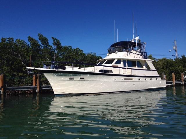 Hatteras 53 Yacht Fisherman