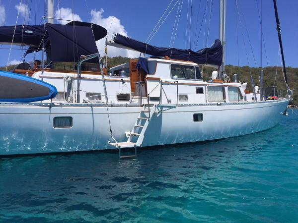 Frans Maas Expedition Yacht For Sale New England