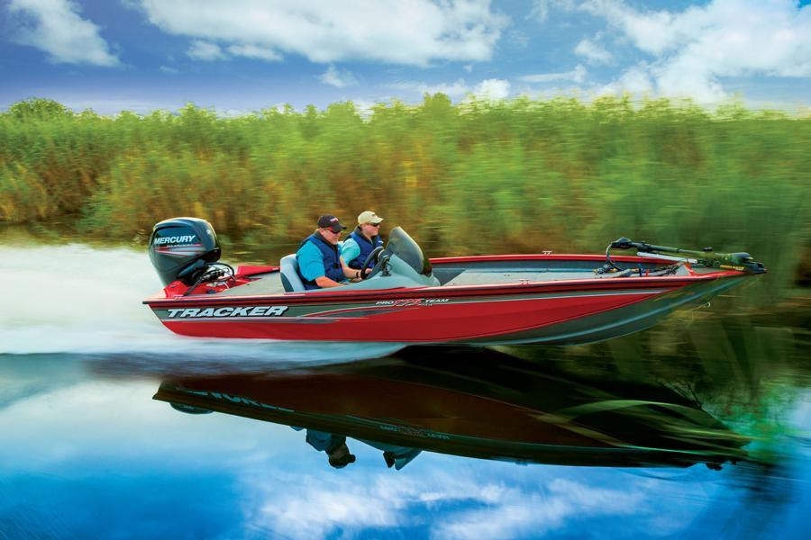 лодка bass tracker pro team 175 характеристики