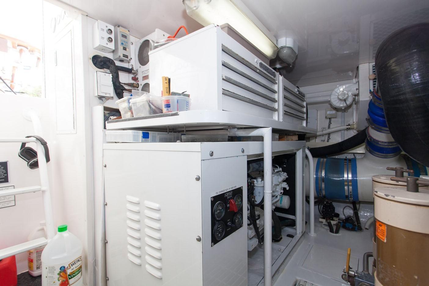 65 Viking Convertible Engine Room