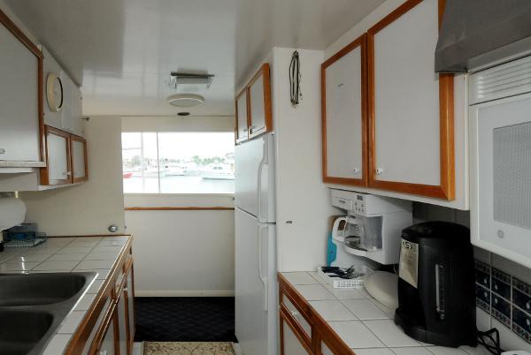 Hargrave yacht kitchen