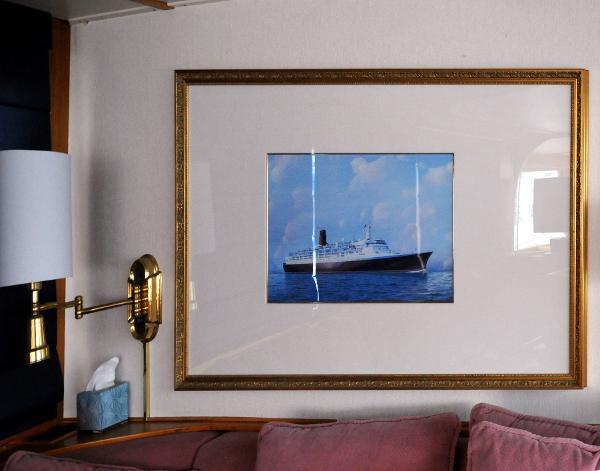 Hargrave yacht custom interior