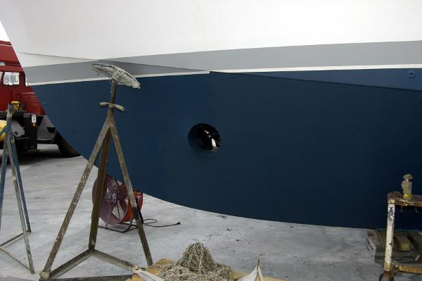 Hargrave yacht hull