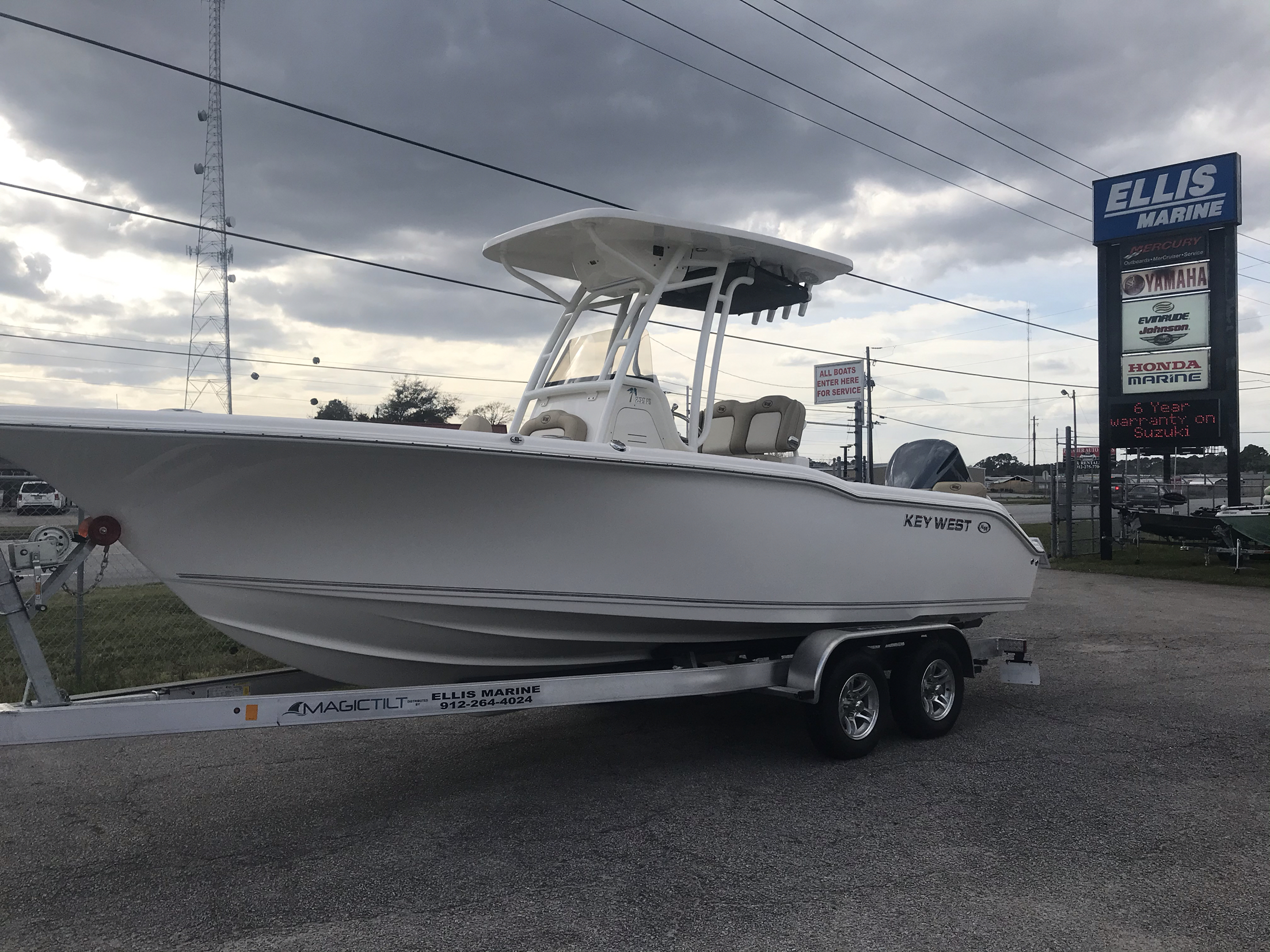 2020 Key West boat for sale, model of the boat is 239FS & Image # 1 of 18