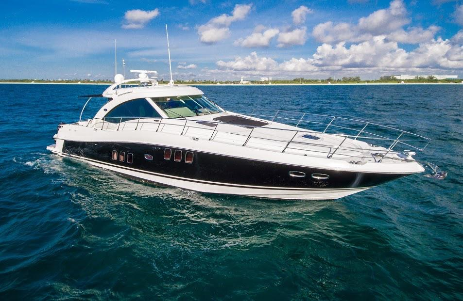 60 sea ray 2007 rose for sale in miami  florida  us
