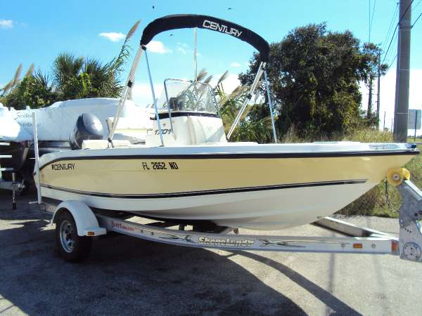 Used 2006 century boats 1701cc for sale in melbourne for Century motors of south florida