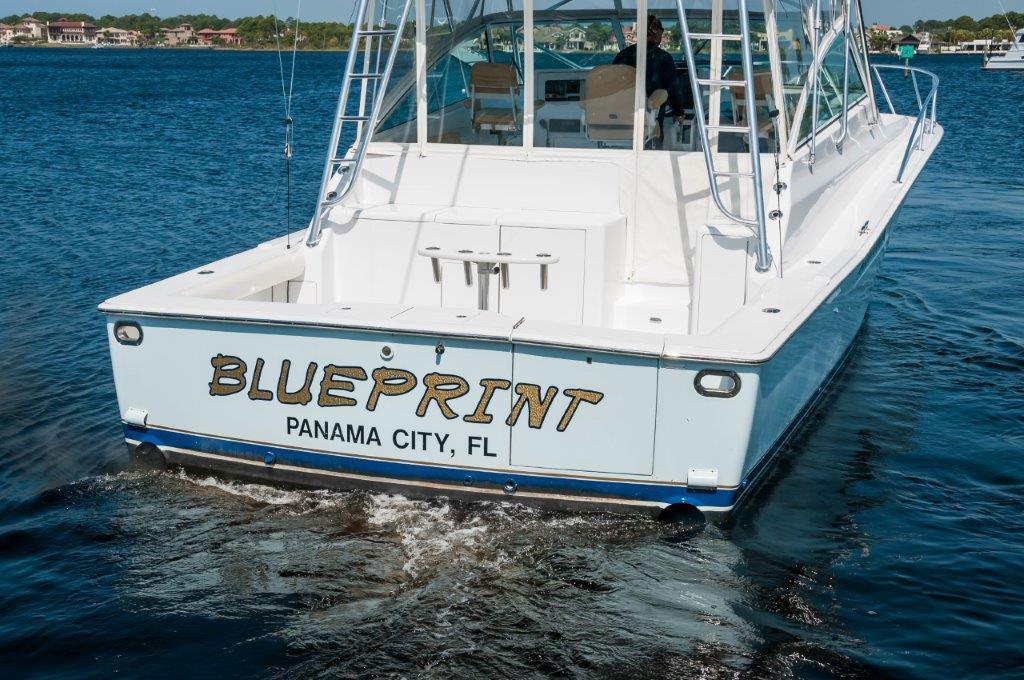 43 viking 2002 blueprint for sale in panama city florida for Florida blueprint