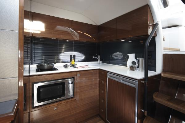 Manufacturer Provided Image: Princess V39 Galley