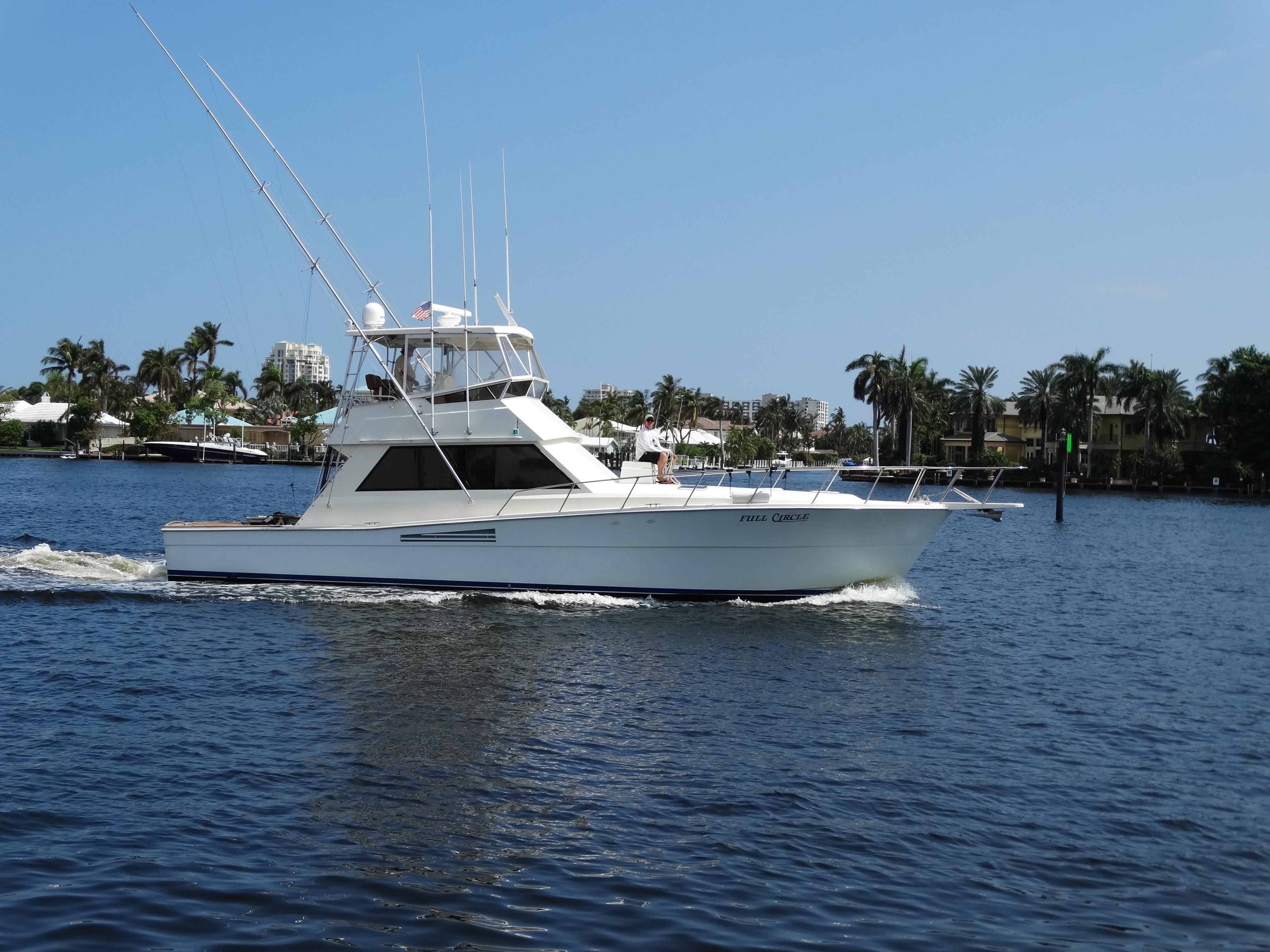 Sportfish flagler yachts for Circle fishing boat